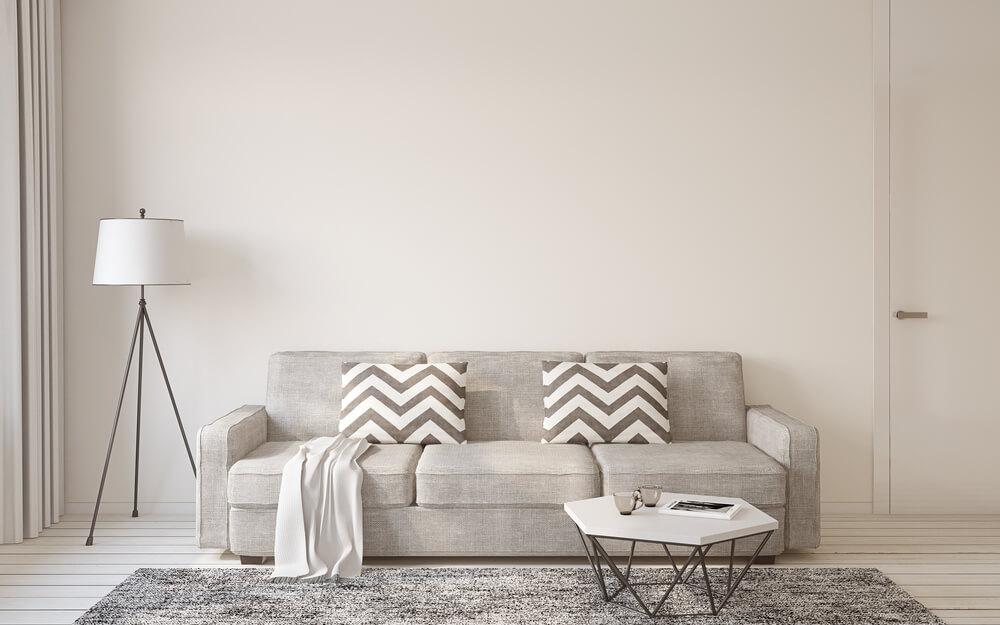 Nên đặt ghế sofa trong nhà theo phong thủy